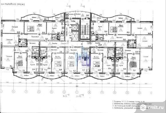 3-комнатная квартира 96,94 кв.м