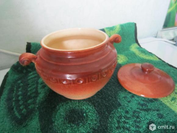 Горшочки (керамика) для приготовления пищи V- 0.5 л -2 шт