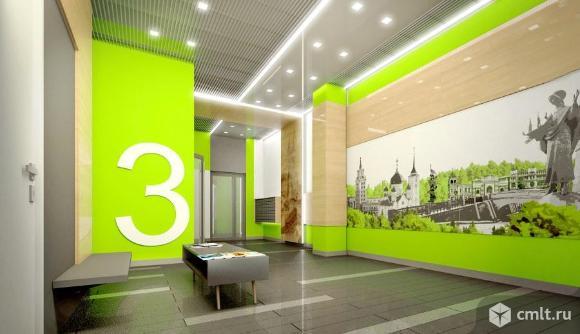 3-комнатная квартира 77,58 кв.м