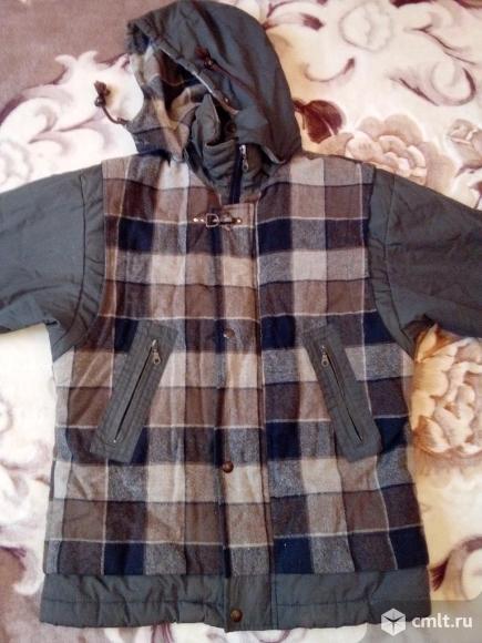 Куртка на мальчика подростка