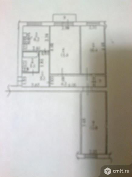 3-комнатная квартира 56,4 кв.м