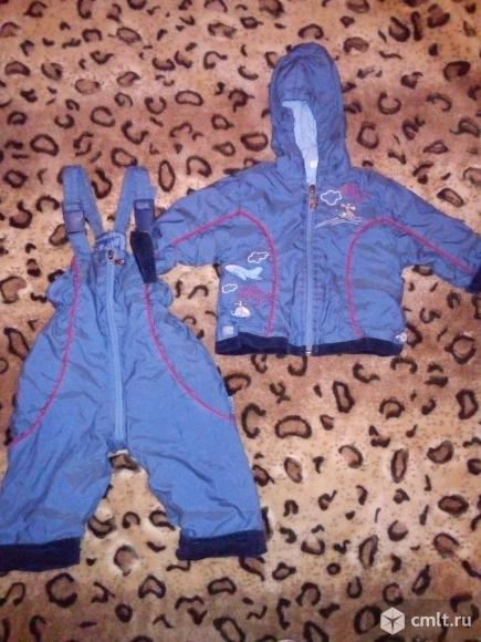 Курточка+комбинезон на тёплую осень