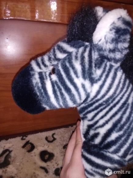 Мягкая игрушка зебра. Фото 2.