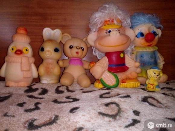 Советские игрушки пакетом