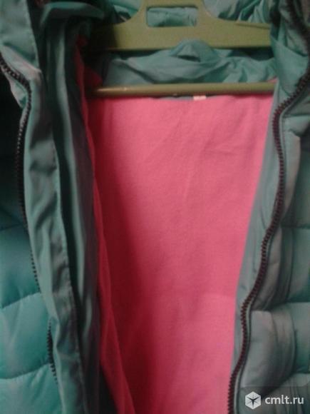 Куртка новая зимняя р.146-152. Фото 3.