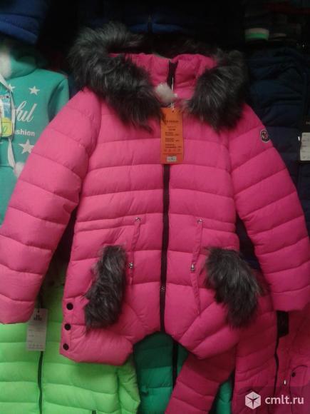 Куртка новая зимняя р.134-140