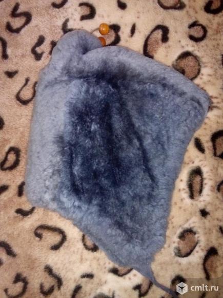 Детская шапка мутон
