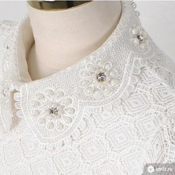 Блузка гипюровая. Фото 3.