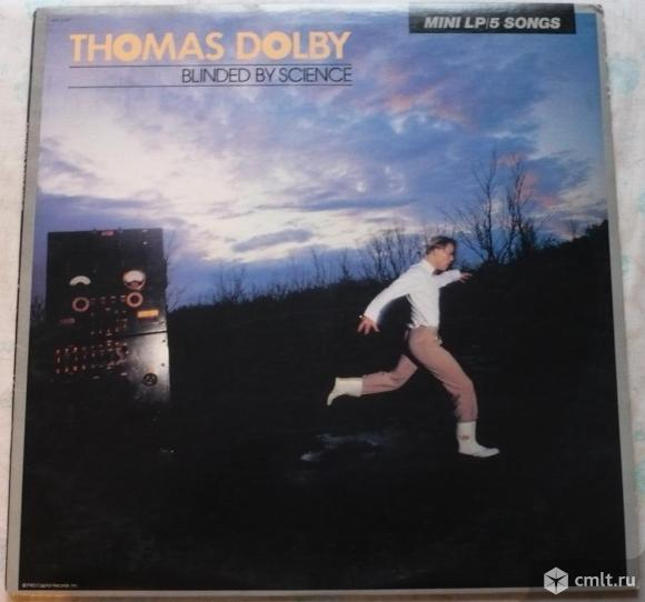 """Грампластинка (винил). Гигант [12"""" LP]. Thomas Dolby. Blinded By Science. 1983 Capitol Records. USA.. Фото 1."""