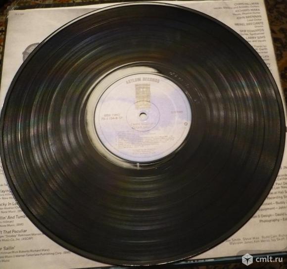"Грампластинка (винил). Гигант [12"" LP]. Chris Hillman. Clear Sailin'. 1977 Elektra/Asylum Records.. Фото 8."