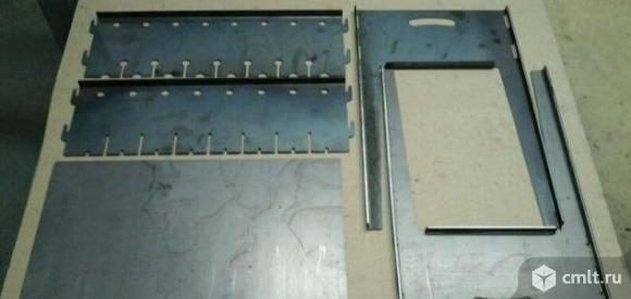 Мангал разборный двухуровневый на 8 шампуров