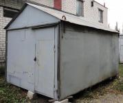 Металлический бытовка для строителей и садоводов 4,5*2,9 м.