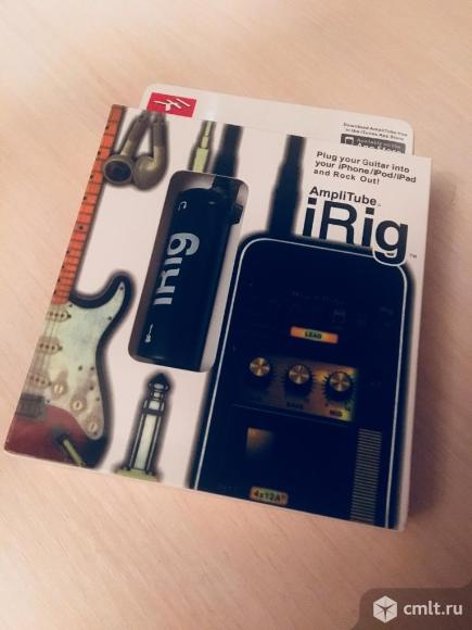 Apple iRig гитарный процессор