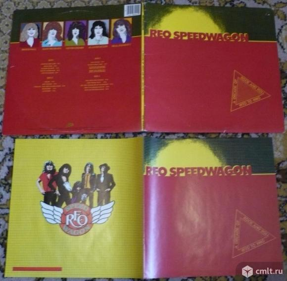 "2 грампластинки (винил). Гигант [12"" LP]. REO Speedwagon. A Decade Of Rock And Roll 1970 To 1980.. Фото 1."