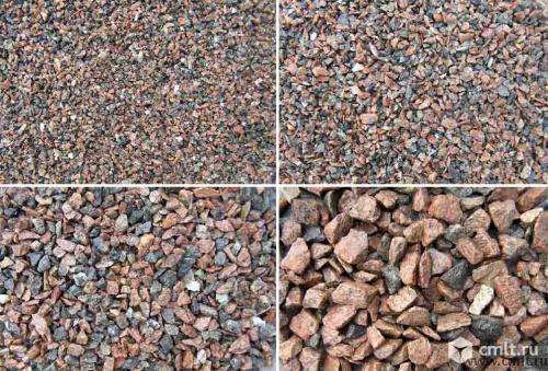 Песок, отсев, керамзит, щебень гранитный