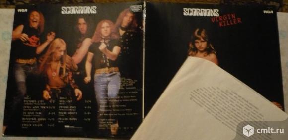 "Грампластинка (винил). Гигант [12"" LP]. Scorpions. Virgin Killer. (P) 1976 RCA Records. France.. Фото 1."