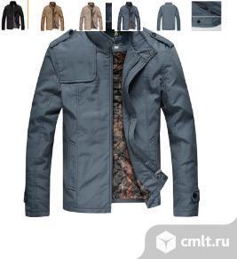 Куртка серая. Фото 1.
