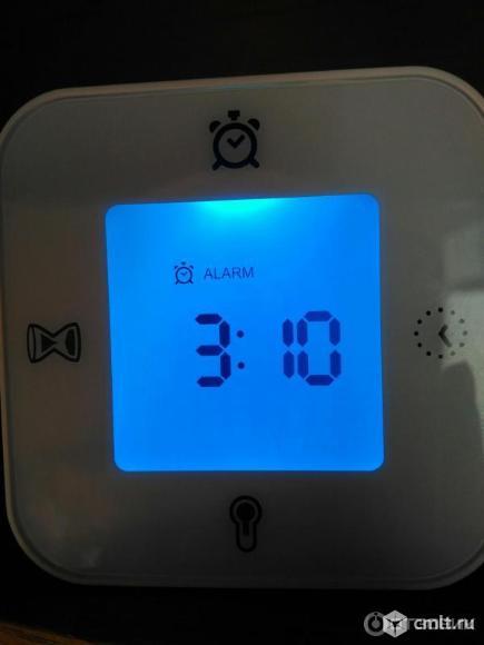часы-будильник-термометр