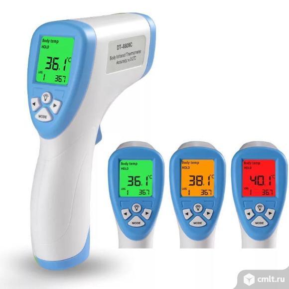 Бесконтактный инфракрасный термометр. Фото 1.