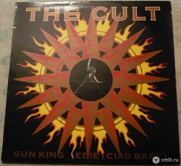 """Грампластинка (винил). Сингл [12"""" Single]. The Cult. Sun King / Edie (Ciao Baby). 1989. Англия.. Фото 1."""
