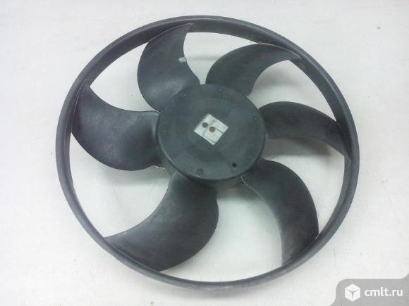 Вентилятор охлаждения RENAULT LOGAN 05-/ SANDERO 08- б/у 8200765566 4*. Фото 1.