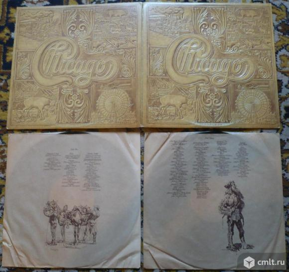 "2 грампластинки (винил). Гигант [12"" LP]. Chicago. Chicago VII. (C)(P) 1974 CBS, Inc. C2 32810. USA.. Фото 1."