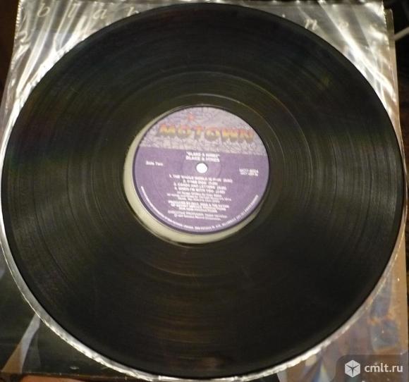 """Грампластинка (винил). Гигант [12"""" LP]. Blake & Hines. Blake and Hines. 1987. Motown. Канада.. Фото 8."""