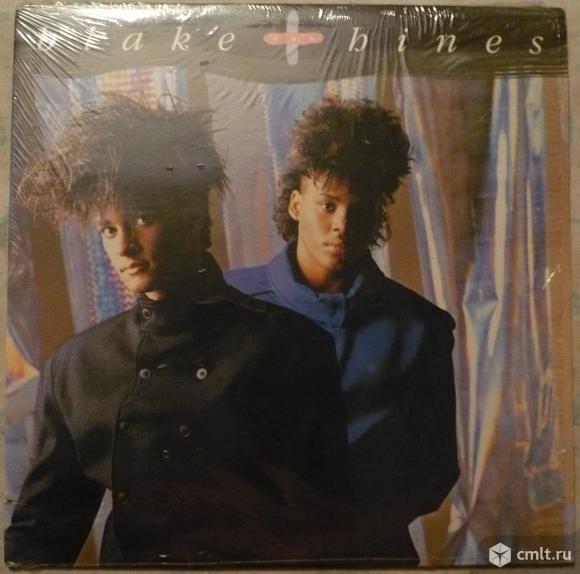 """Грампластинка (винил). Гигант [12"""" LP]. Blake & Hines. Blake and Hines. 1987. Motown. Канада.. Фото 1."""