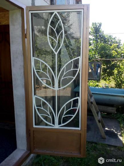 Двери металлические б.у новые продаю. Фото 1.