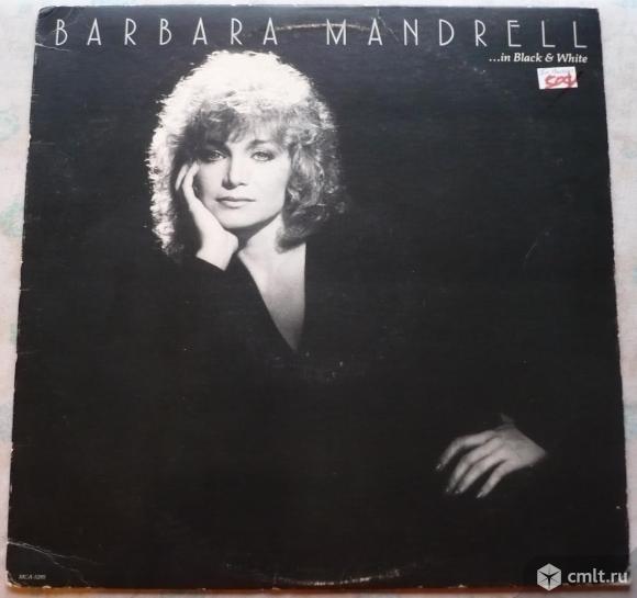 "Обложка от грампластинки (винила). Гигант [12"" LP]. Barbara Mandrell. ...in Black & White. 1982. США. Фото 1."