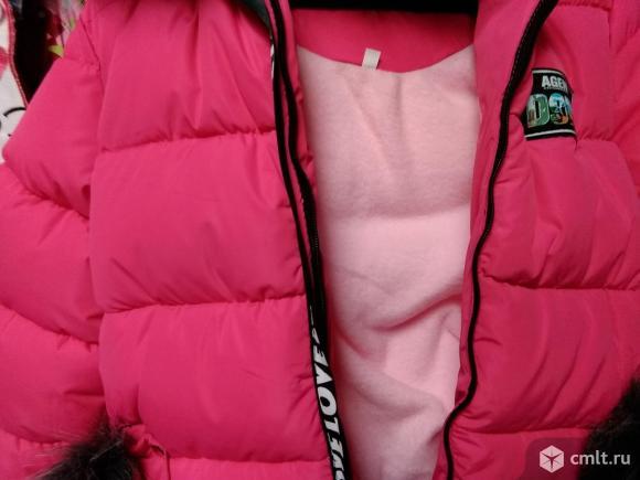 Зимние новые куртки р.110-116. Фото 2.
