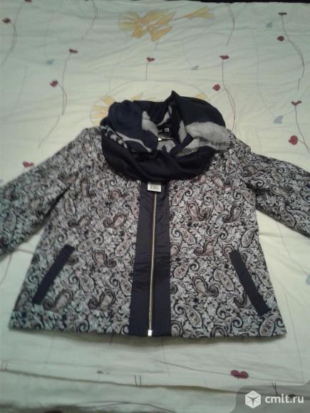 Куртка-жакет новая 52р-р