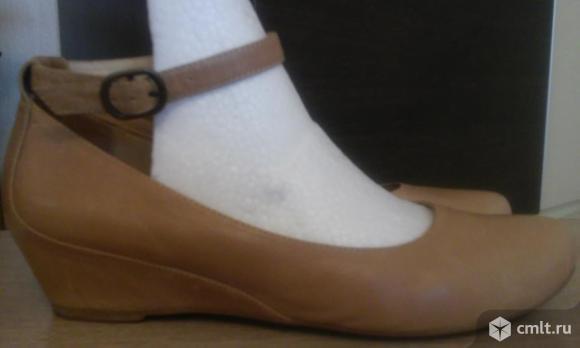 Кожанные туфли. Фото 1.