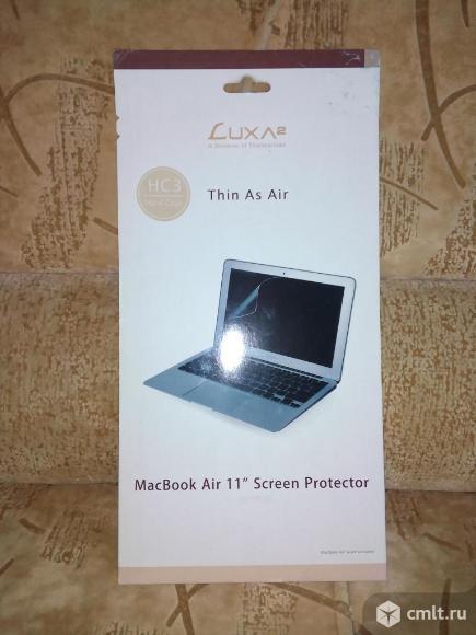 Защитная пленка для ноутбука macbooc air 11*. Фото 1.