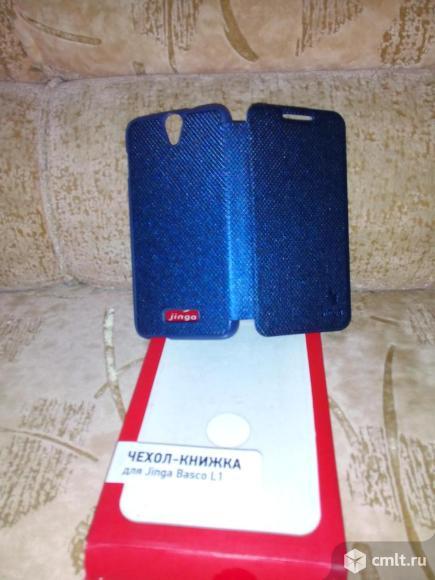 Чехол-книжка для jinga basco i1 blu. Фото 2.