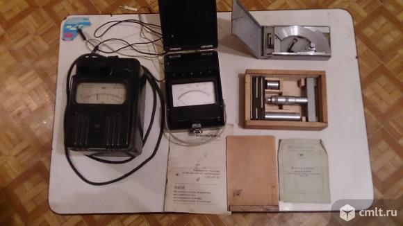 Угломер с нониусом Тип 2 изг. в СССР ГОСТ 5378-66. Фото 1.