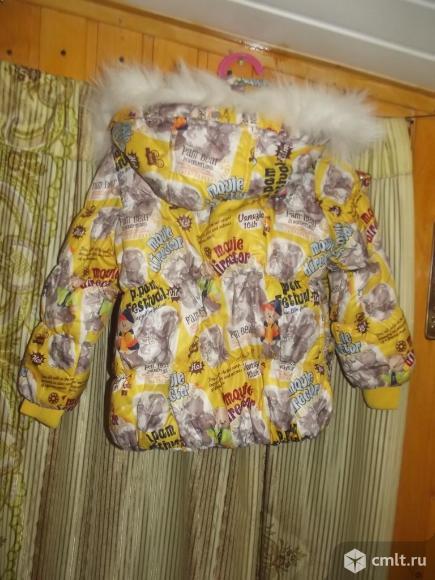 Куртки зимние для девочки