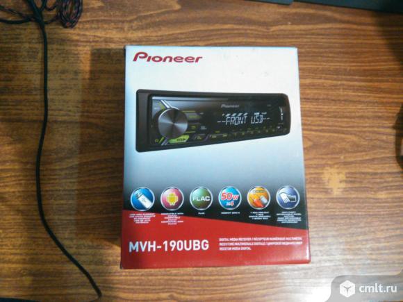 Магнитола pioneer mvh-190ubg