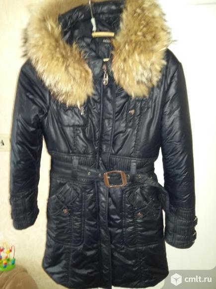 Тёплая зимняя куртка
