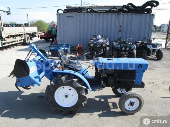 Японский мини трактор Iseki TX1410S