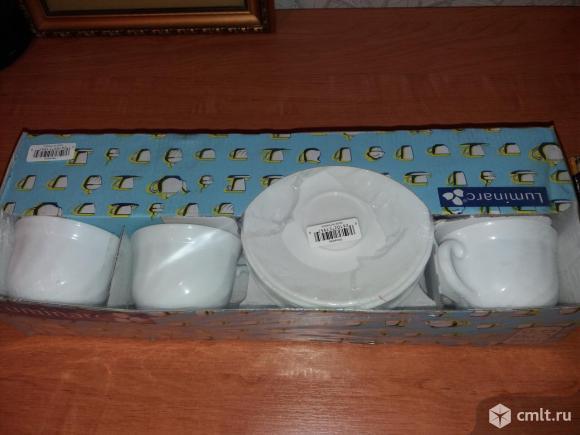 Чайный набор 12 предметов новый Luminarc в герметичной упаковке