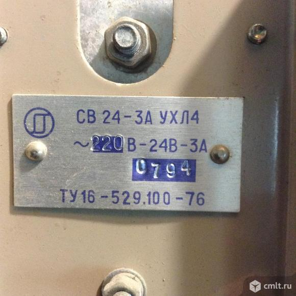 Продам 3-и трансформатора св 24-3Аухл4 220в-24в-3а