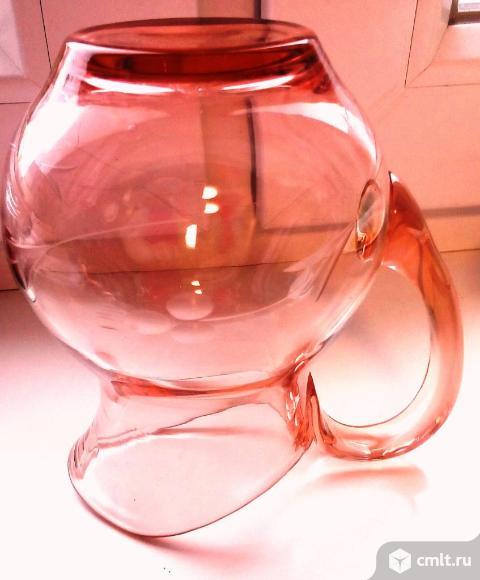 Кувшин цветное стекло