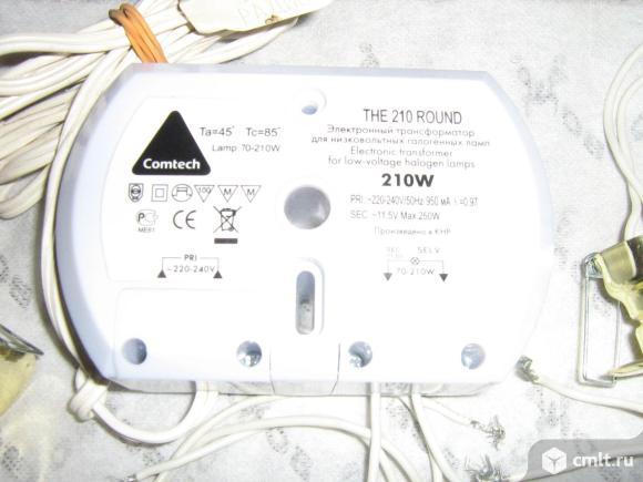 Точечные светильники 12 вольт с блоком на 210 ватт 10штук