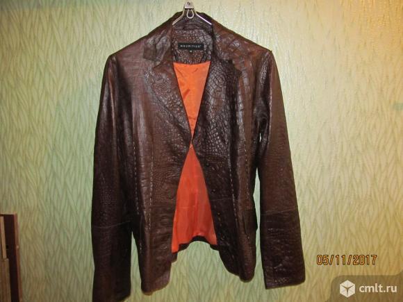 Кожаный пиджак MAURITIUS