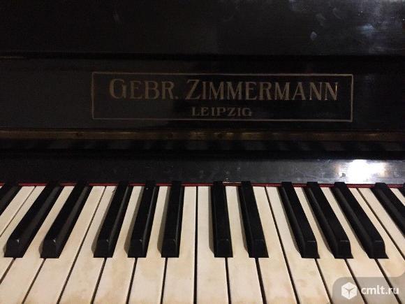 Продам фортепиано GEBR.ZIMMERMANN LEIPZIG