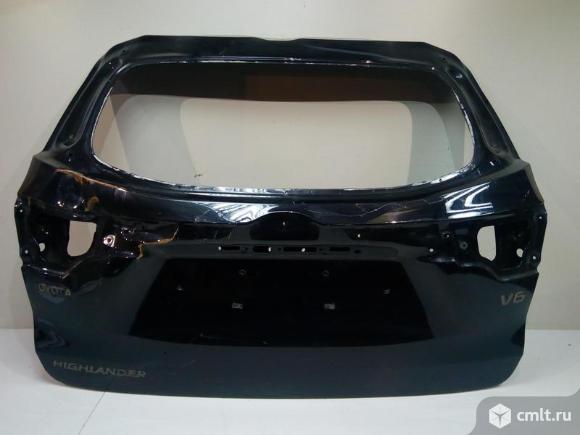 Крышка багажника TOYOTA HIGHLANDER III 13- б/у 670050E300 3*. Фото 1.