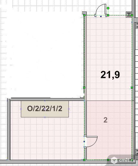 Помещение под офис 21.9 кв. м., прямая аренда, срок аренды - любая.Новорязанское шоссе.