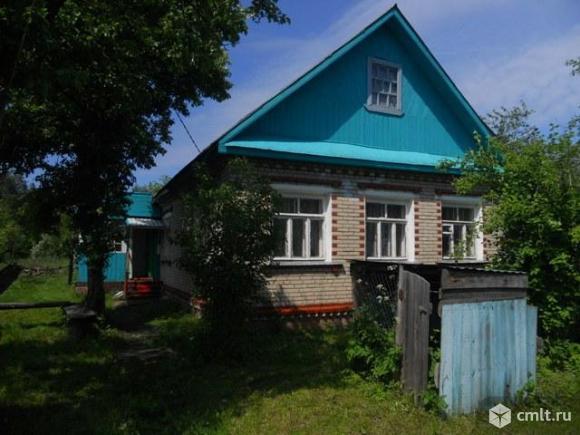 Продам  жилой дом 75 кв.м. в центре деревни