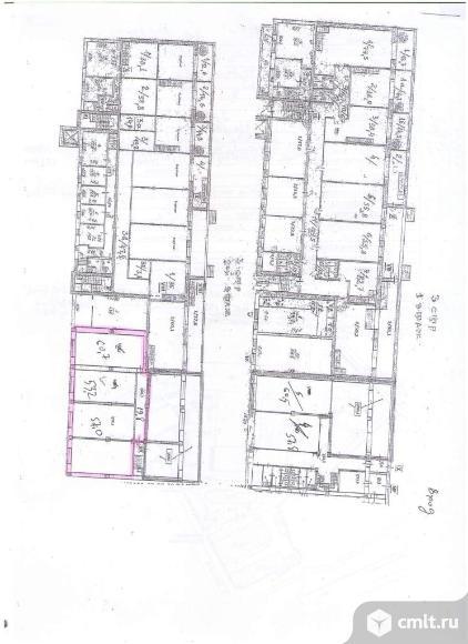 Помещение под офис площадью 190.7 м2, на 2 этаже 3-этажного бизнес-парка классаB в 9 мин.